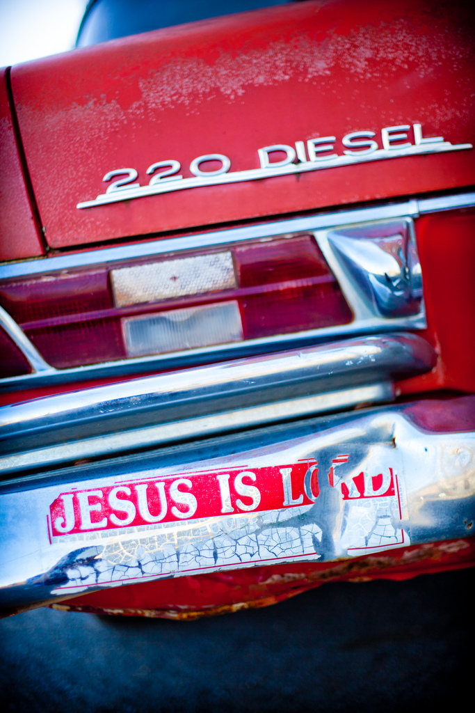 Jesus is Lord bumper sticker