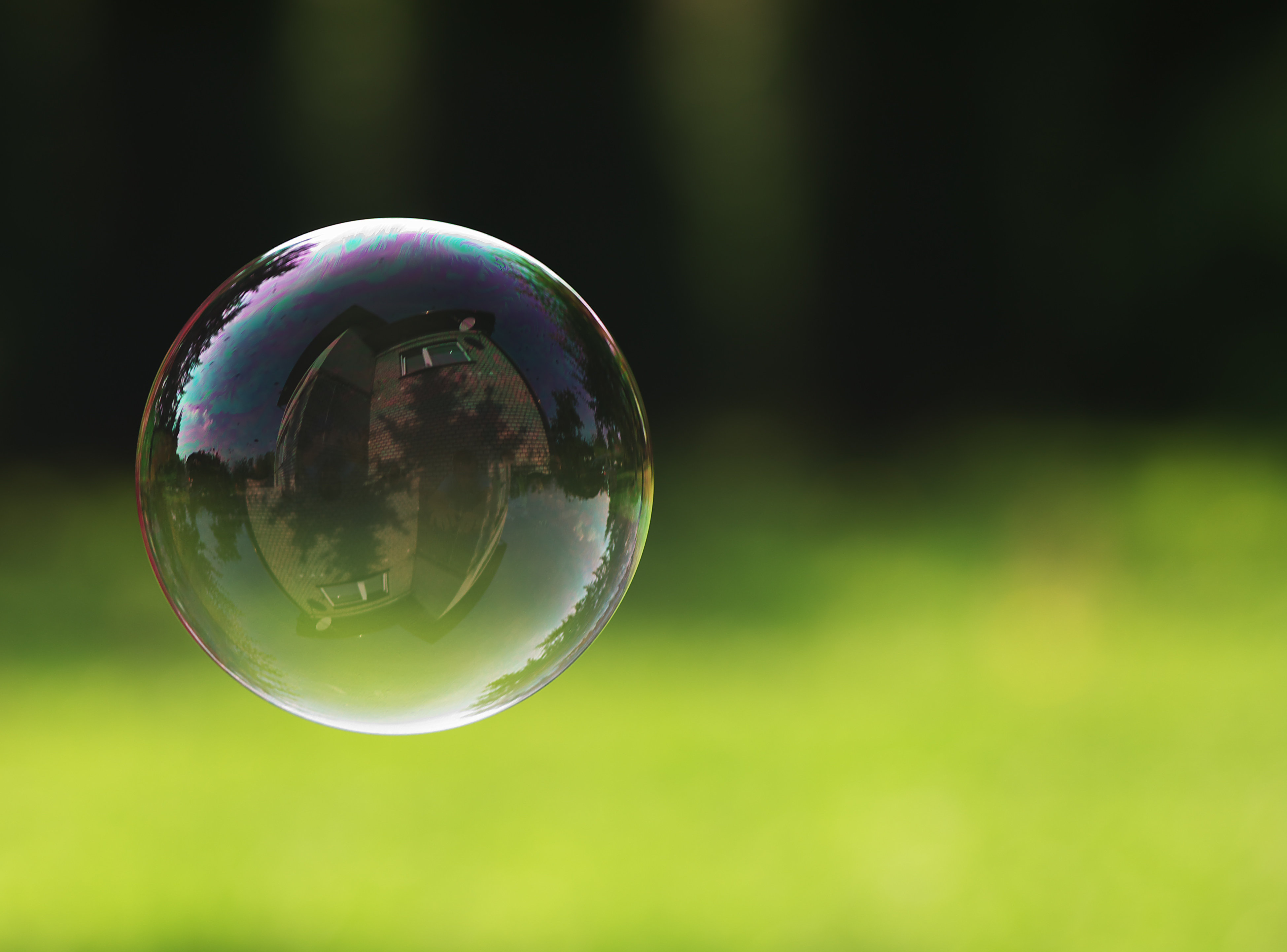 In the bubble – Faith Meets World Bubble