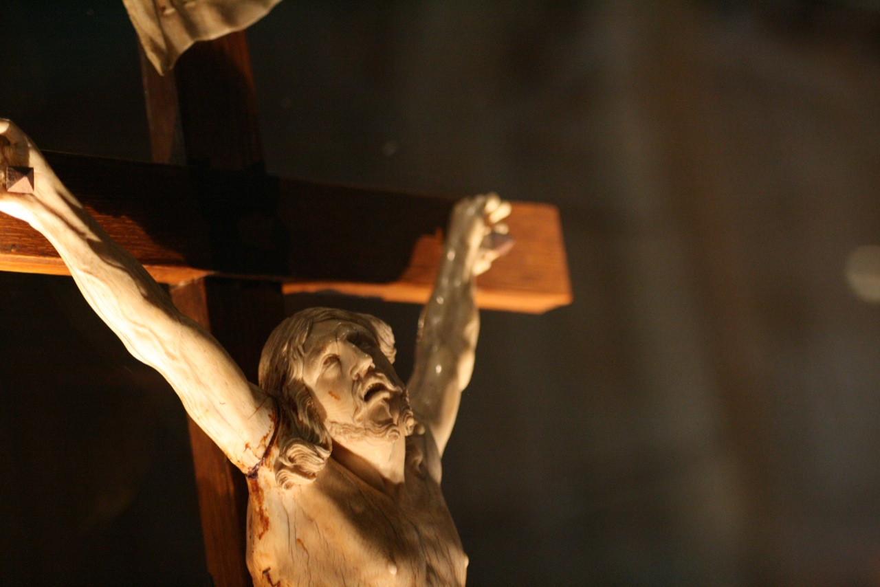 Close-up crucifix