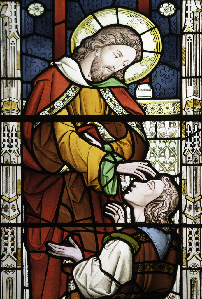 Christ healing