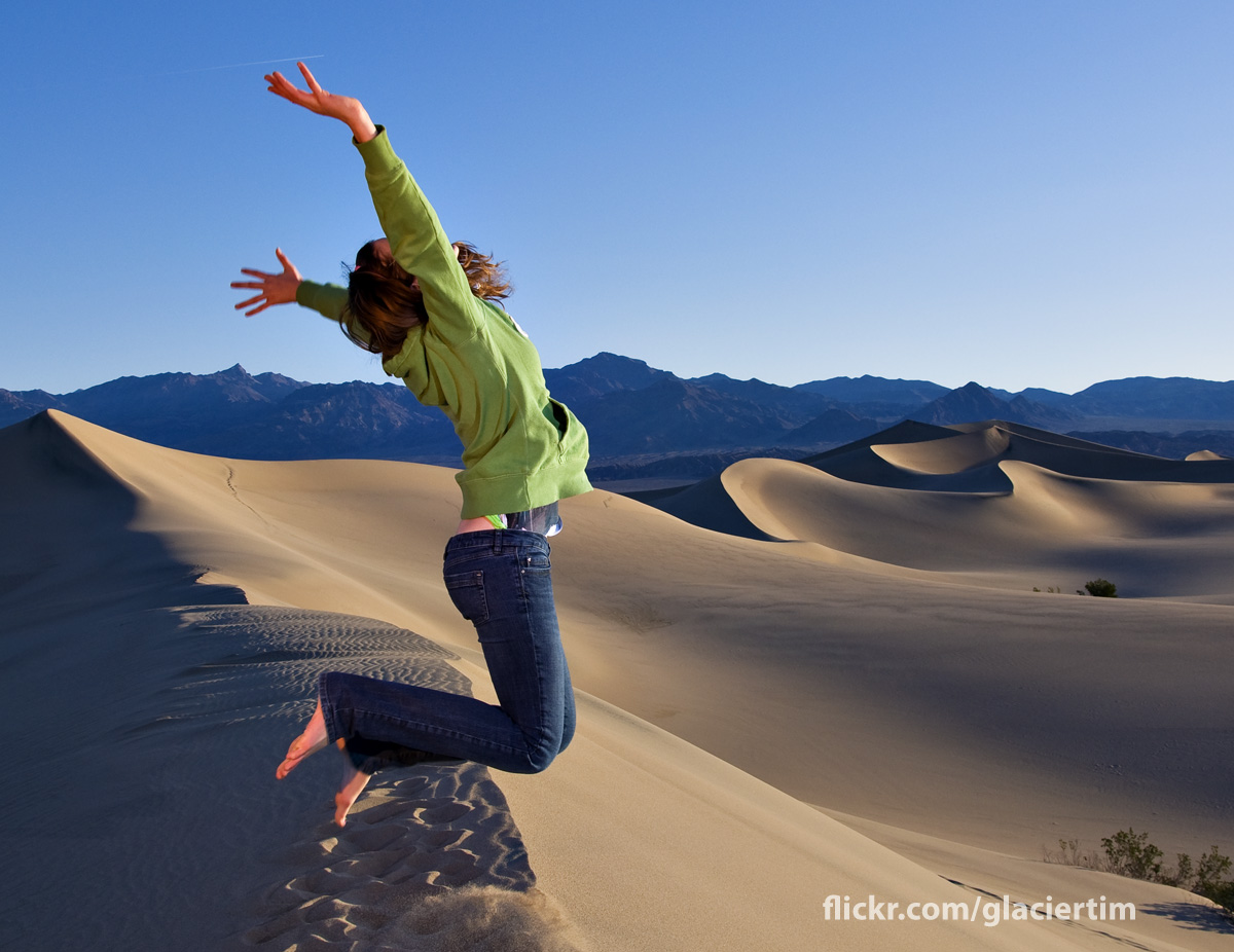 Jump dunes